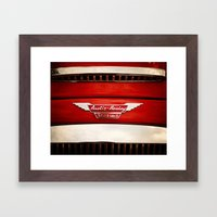 Austin Healey Framed Art Print