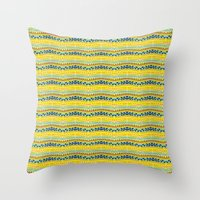 Lemon Summer  Throw Pillow