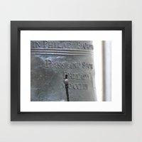 Liberty Bell Philadelphia Framed Art Print