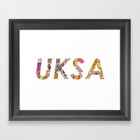UKSA #3 Framed Art Print