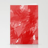 RED HOT CHILI PRINT Stationery Cards