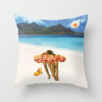 Unrequited Fantasies Throw Pillow