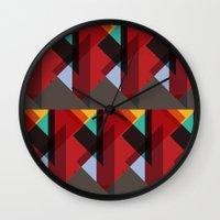 Crazy Abstract Stuff Wall Clock