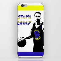 Stephen Curry Golden State Point Guard  iPhone & iPod Skin