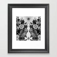 LEGNA KRAD Framed Art Print