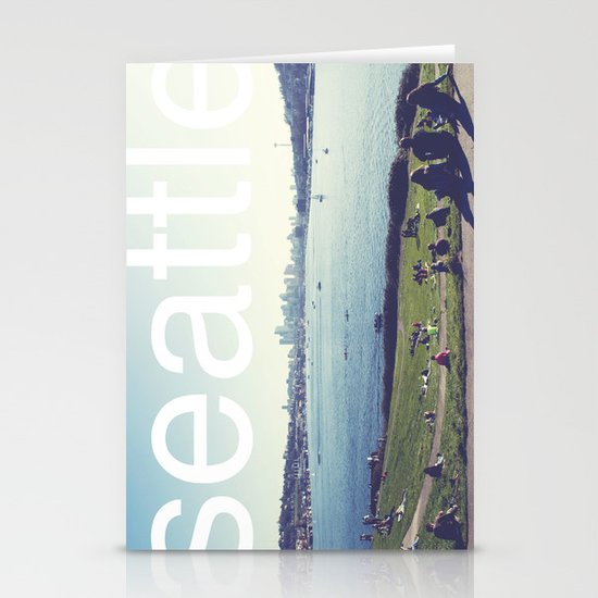 seattle Stationery Card