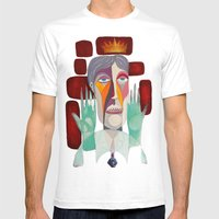 Dr Robert Mens Fitted Tee White SMALL