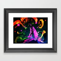 Unsettled Lust Refirm Framed Art Print