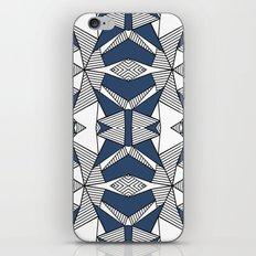Triangle Tribal #2 Navy iPhone & iPod Skin