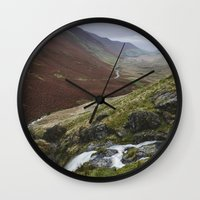 Moss Force Waterfall And… Wall Clock