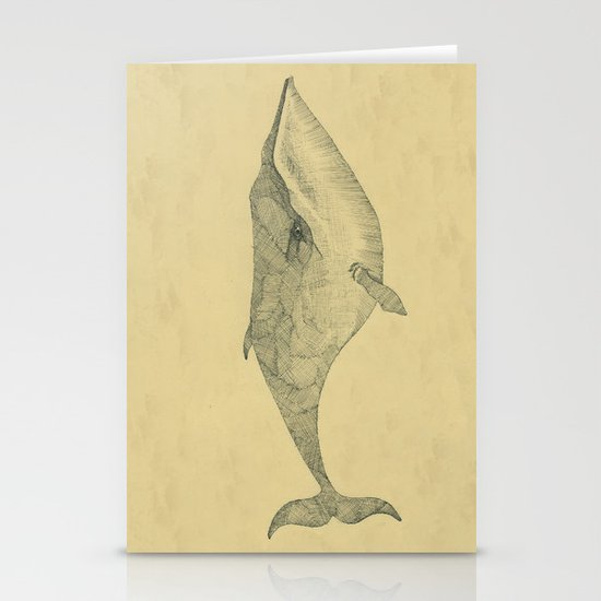 White Whale Stationery Card