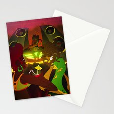 Being  Caribbean: Dance Hall Stationery Cards