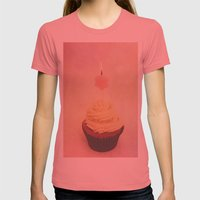 Birthday I Womens Fitted Tee Pomegranate SMALL
