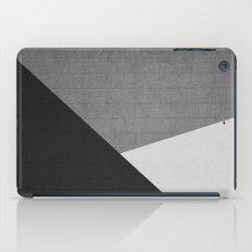 Concrete & Triangles II iPad Case