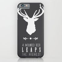 iPhone & iPod Case featuring Deer by Emma J Hardy
