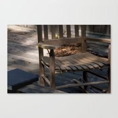 A place to Study Canvas Print