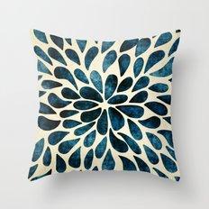 Petal Burst #5 Throw Pillow