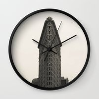 Flatiron Building - NYC Wall Clock