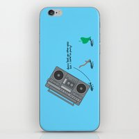 dunno 'bout you other ants, but I came to party! iPhone & iPod Skin