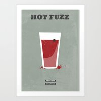 Hot Fuzz - Minimal Poste… Art Print