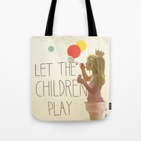 Let the children play Tote Bag