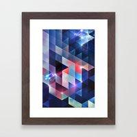 sydd vyww Framed Art Print