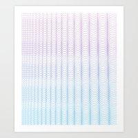 Circle Gradient Art Print