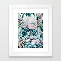 Pastel Paradise Framed Art Print