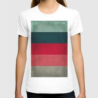 New York City Hues Womens Fitted Tee White SMALL