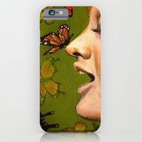 iPhone & iPod Case featuring Butterfly Garden by Kristin Frenzel