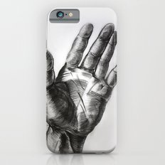 hand drawing hand iPhone 6s Slim Case