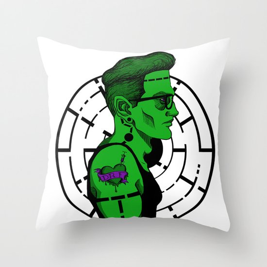 Frank's Son Throw Pillow
