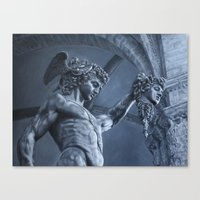 Perseus And Medusa Canvas Print