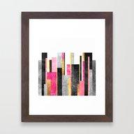 Skyline Framed Art Print