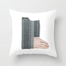 Hand Building Throw Pillow