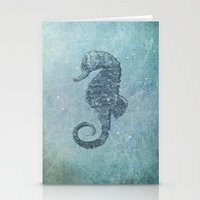 sea & horse Stationery Cards