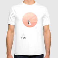FROM EARTH SMALL White Mens Fitted Tee