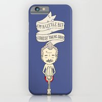 "iPhone & iPod Case featuring ""I'm A Little Bit Lonely These Days."" - Blume by Derek Eads"