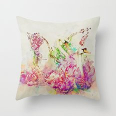 Untitled Melodies Throw Pillow