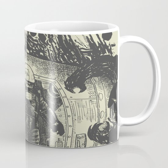Space slugs die easy Mug