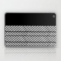 Herringbone Boarder Laptop & iPad Skin