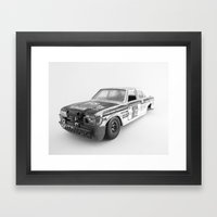 Wrecked Toy Car 02 - Alpha Romeo Framed Art Print