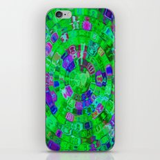 Mosaic Gems Emerald iPhone & iPod Skin