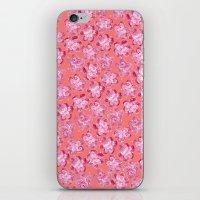 Wallflower - Rosette iPhone & iPod Skin