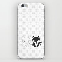 Twins Fox iPhone & iPod Skin