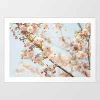 Barefoot In Spring Art Print