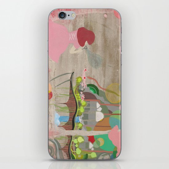Bubblelandia iPhone & iPod Skin