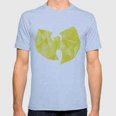Wu-Tangle Mens Fitted Tee Athletic Blue SMALL