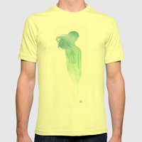 Ghost Mens Fitted Tee Lemon SMALL