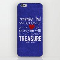 Treasure - Paulo Coelho, iPhone & iPod Skin